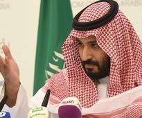 Saudi Prince Mohammed Bin Salman in U.S. pitching his economic plan to investors