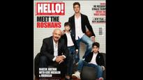 Power Family: The Roshan boys pose for the cover of Hello!