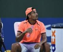Nick Kyrgios tired after practicing with Tomic: 'Djokovic would be ready to go'