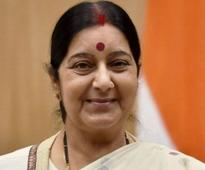 Sushma Swaraj named as one of 15 Global Thinkers for fashioning novel brand of Twitter diplomacy