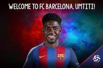 FC Barcelona Signs Lyon's Samuel Umtiti