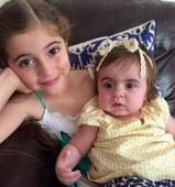 Little girl saves her baby sister's life by donating her bone marrow