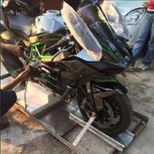 MS Dhoni & his motorbikes