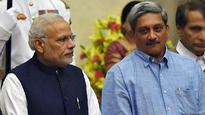 Parrikar to brief PM Modi on creation of post of permanent chairman, CoSC