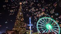 In pictures  Christmas eve celebrations from across the globe
