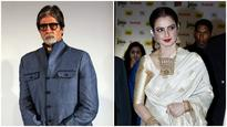 Watch | Silsila continues: When Amitabh Bachchan almost bumped into Rekha!