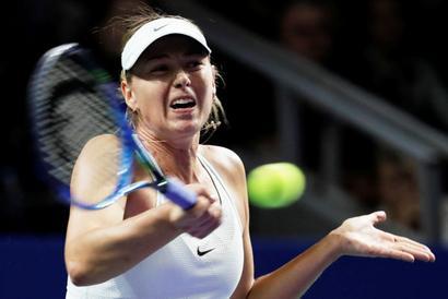 Sports Shorts: Sharapova loses to Rybarikova in Kremlin Cup return