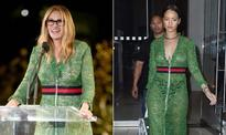 Julia v Rihanna: Who wore the Gucci sheer dress better?