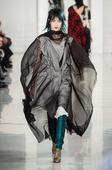 Runway models dressed like David Bowie in bedazzling John Galliano show