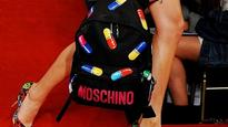 Moschino under fire for pill-themed 'capsule' collection