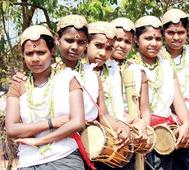 Little bards croon the folklore of their tribe at Kerala School Youth festival