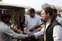 Rahul Gandhi in Dadri: Cashless economy has left common man without cash