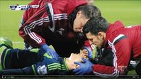 Ki Sung-yueng Stretchered Off Pitch with Head Injury
