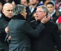 Alex Ferguson believes Jose Mourinho's Manchester United are still in the title race