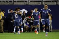 Argentina scores after 3 minutes on USA off beautiful Messi assist