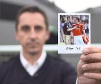 'Worth a 120-match ban!' Neville and Carra go over their derby memories