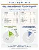 Who Audits Smaller Public Companies  2016 Edition