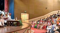Vasundhara Raje holds parleys with Rajput leaders