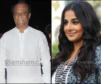 Vidya Balan to be paired opposite Rajinikanth? - News