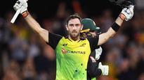 Glenn Maxwell century guides Australia to T20 win over England