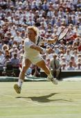 Wimbledon: The green of the grass turns to brown