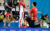 The Latest: France wins fencing gold in men's team epee