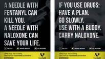New Fraser Health posters offer overdose survival tips