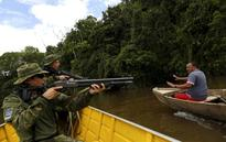 Cracking down on illegal gold mining in the Amazon