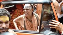 Was Framed Up, Says Kanchi Seer in His Deposition