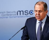Russia's Lavrov says Moscow waits for U.S. suggestions on cooperation in Syria