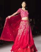Versha Sethi showcased Queen of Banaras collection in Mercedes Benz Fashion Week Doha