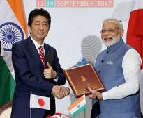 Modi invites more Japanese investment, 4 townships to come up