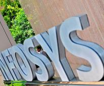 Infosys shares fall; FY18 guidance disappoints