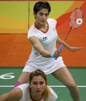 Jwala-Ashwini out of Olympics after second defeat