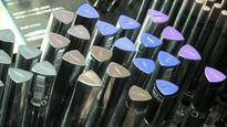 Why is make-up a hard sell in India?