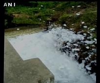 After Bengaluru lakes, Hyderabad's RK Puram lake spills toxic foam