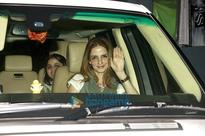 Sussanne Roshan & Madhuri Dixit snapped…