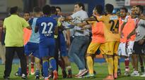 Watch: Soccer player goes wild, kicks opponent in postgame brawl in India