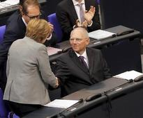 Germany elects Wolfgang Schaeuble as new speaker to head far right politics