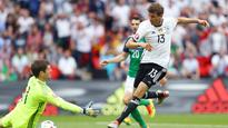 Northern Ireland's Gareth McAuley: Germany 'impossible' to play at times