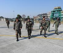 Army chief briefed on North-East security situation
