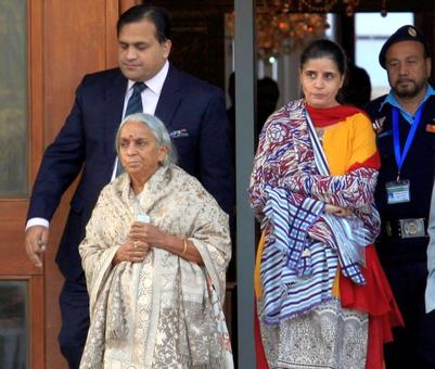 Sushma to make statement in Parliament on Pak's treatment of Jadhavs