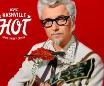 A 'Mad Men' star is KFC's new Colonel Sanders mascot