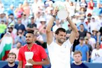 Dimitrov dominates Kyrgios to win Cincinnati Masters