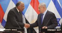Egyptian and Israeli Foreign Ministers come together in rare visit