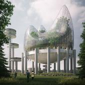Giant greenhouse is the winning idea in New York State Pavilion competition