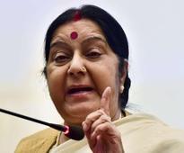 Swaraj asks Indian mission in Pak to grant visa to woman