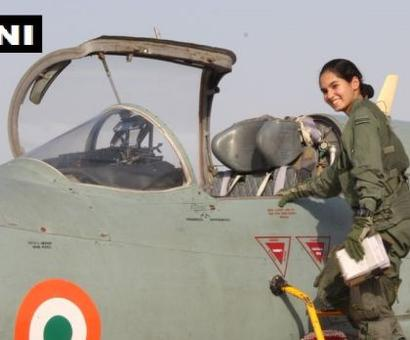 Meet India's first woman to fly a fighter aircraft solo