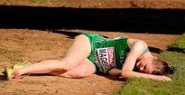 Watch: Ireland's Ciara Mageean bravely crawls over finish line following gruelling race