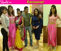 Mandini Karimi invites Bigg Boss 9 housemates Priya Malik, Keith Sequeira, Rochelle Maria Rao for a special screening of Kyaa Kool Hain Hum 3!